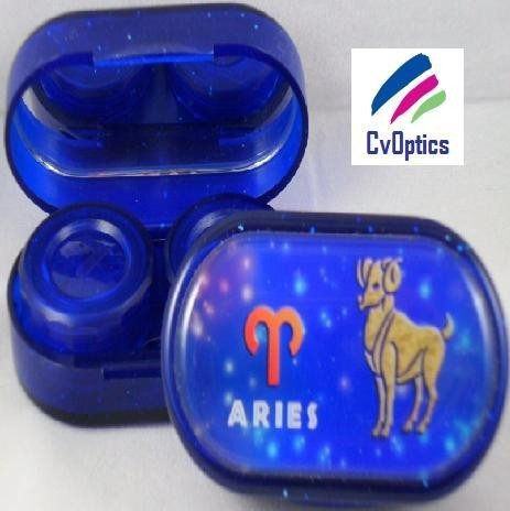 Aries Star sign Contact Lens Soaking Case
