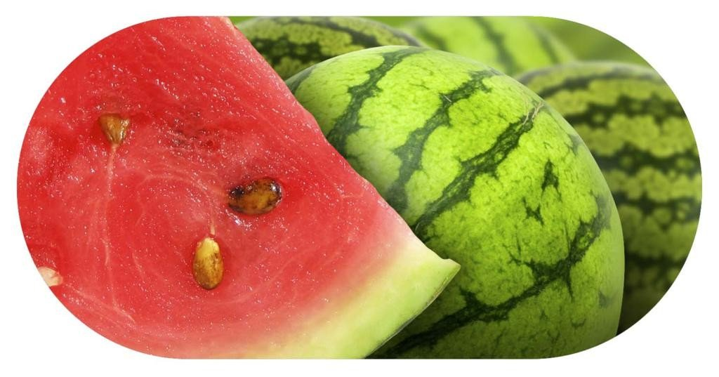 Funky Watermelon Contact Lens soaking Case With Mirror