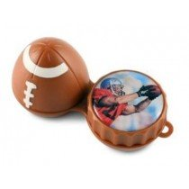 American Football 3D Contact Lenses Storage Soaking Case