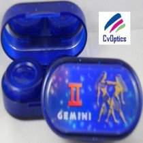 Gemini Star sign Contact Lens Soaking Case