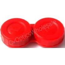 Red Standard Contact Lens Soaking Case