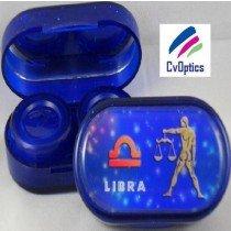 Libra Star sign Contact Lens Soaking Case