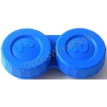 Blue Standard Contact Lens Soaking Case