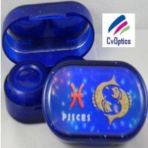 Pisces Star sign Contact Lens Soaking Case