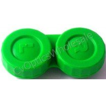 Green Standard Contact Lens Soaking Case