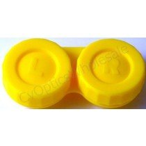 Yellow Standard Contact Lens Soaking Case