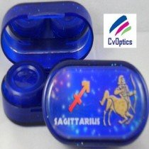 Saggitarius Star sign Contact Lens Soaking Case