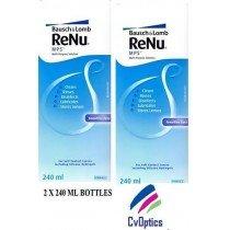 2x 240ml Renu MPS Muliti-Purpose Contact Lens Solution