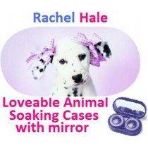 Dalmation Rachel Hale Contact Lens Soaking Case