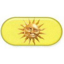 Sunshine Colourfully Cool Contact Lens Soaking Case
